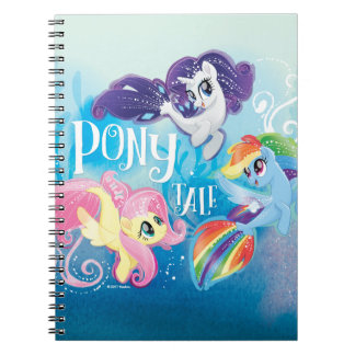 My Little Pony | Seaponies - Pony Tale Notebook