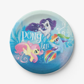 My Little Pony | Seaponies - Pony Tale Paper Plate