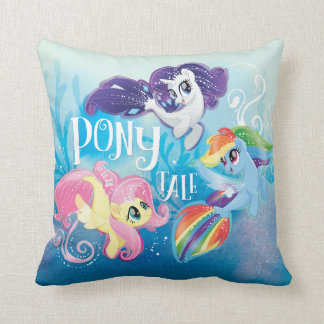 My Little Pony | Seaponies - Pony Tale Throw Pillow