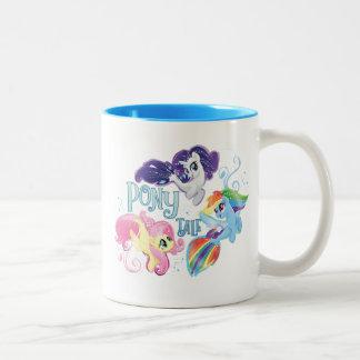 My Little Pony | Seaponies - Pony Tale Two-Tone Coffee Mug