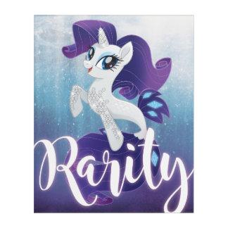 My Little Pony | Seapony Rarity Acrylic Wall Art
