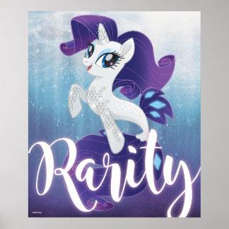 My Little Pony | Seapony Rarity Poster