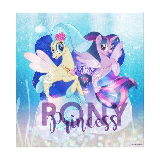 My Little Pony | Skystar and Twilight - Princess Canvas Print
