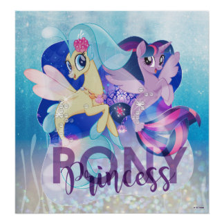 My Little Pony | Skystar and Twilight - Princess Poster