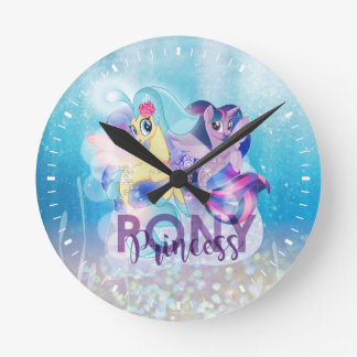 My Little Pony | Skystar and Twilight - Princess Round Clock