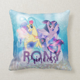 My Little Pony | Skystar and Twilight - Princess Throw Pillow