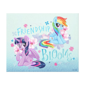 My Little Pony | Twilight and Dash - Friendship Canvas Print
