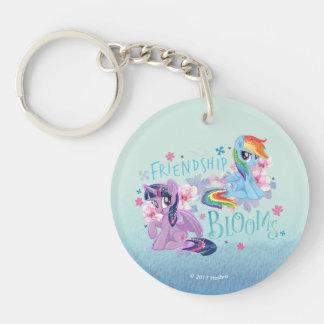 My Little Pony | Twilight and Dash - Friendship Double-Sided Round Acrylic Keychain