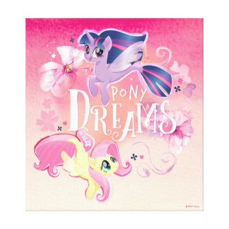 My Little Pony | Twilight and Fluttershy - Dreams Canvas Print