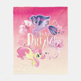 My Little Pony | Twilight and Fluttershy - Dreams Fleece Blanket