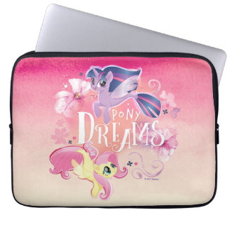 My Little Pony | Twilight and Fluttershy - Dreams Laptop Sleeve