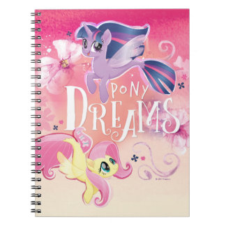 My Little Pony | Twilight and Fluttershy - Dreams Notebooks