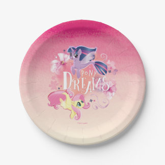 My Little Pony | Twilight and Fluttershy - Dreams Paper Plate