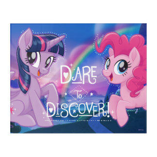 My Little Pony | Twilight and Pinkie - Discover Acrylic Print