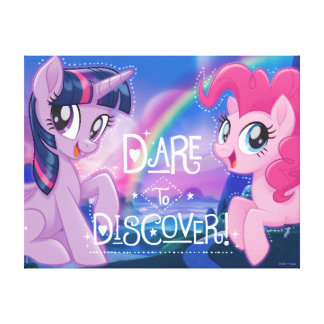 My Little Pony | Twilight and Pinkie - Discover Canvas Print