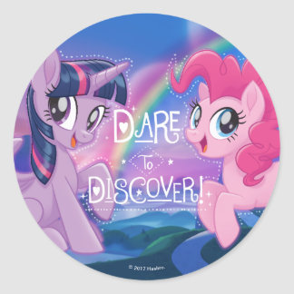 My Little Pony | Twilight and Pinkie - Discover Classic Round Sticker