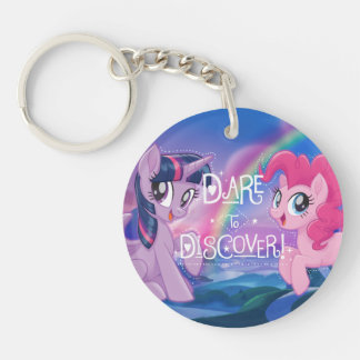 My Little Pony | Twilight and Pinkie - Discover Double-Sided Round Acrylic Keychain