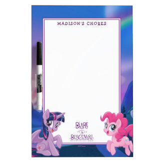 My Little Pony | Twilight and Pinkie - Discover Dry Erase Board
