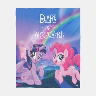 My Little Pony | Twilight and Pinkie - Discover Fleece Blanket