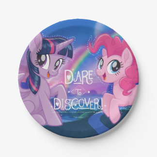 My Little Pony | Twilight and Pinkie - Discover Paper Plate