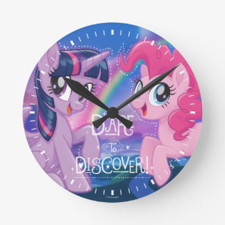 My Little Pony | Twilight and Pinkie - Discover Round Clock