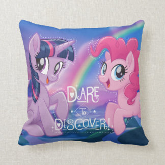 My Little Pony | Twilight and Pinkie - Discover Throw Pillow