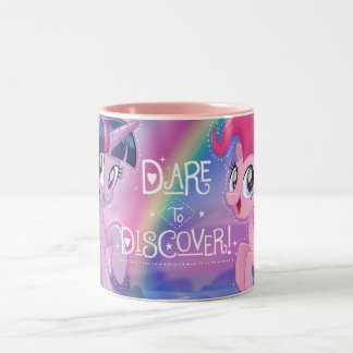 My Little Pony | Twilight and Pinkie - Discover Two-Tone Coffee Mug