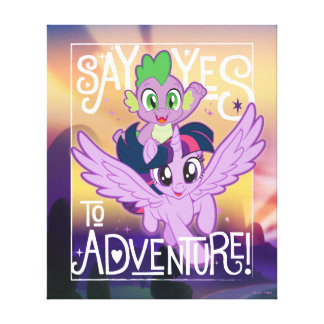 My Little Pony | Twilight and Spike - Adventure Canvas Print