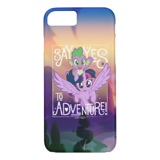 My Little Pony   Twilight and Spike - Adventure Case-Mate iPhone Case