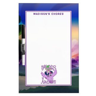 My Little Pony | Twilight and Spike - Adventure Dry Erase Board