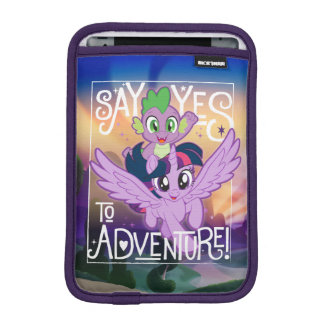 My Little Pony   Twilight and Spike - Adventure iPad Mini Sleeve