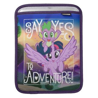 My Little Pony   Twilight and Spike - Adventure iPad Sleeve
