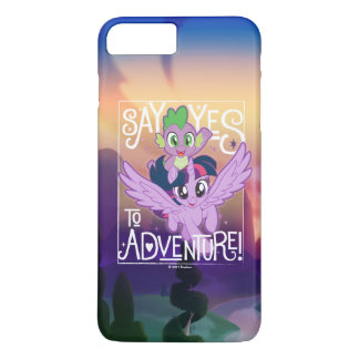 My Little Pony | Twilight and Spike - Adventure iPhone 7 Plus Case