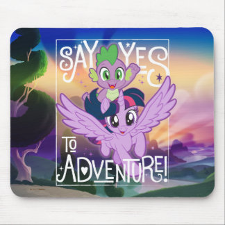 My Little Pony | Twilight and Spike - Adventure Mouse Pad
