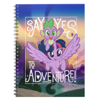 My Little Pony | Twilight and Spike - Adventure Notebook