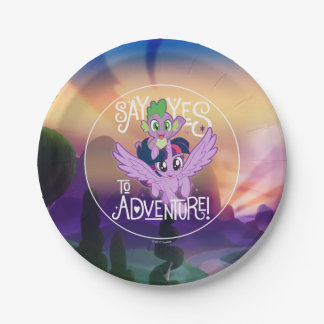 My Little Pony | Twilight and Spike - Adventure Paper Plate