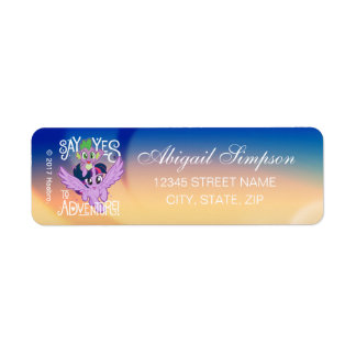 My Little Pony | Twilight and Spike - Adventure Return Address Label