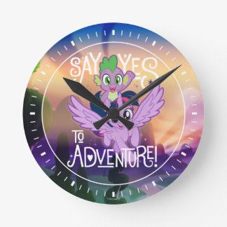 My Little Pony | Twilight and Spike - Adventure Round Clock