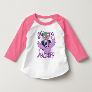 My Little Pony | Twilight and Spike - Adventure T-Shirt