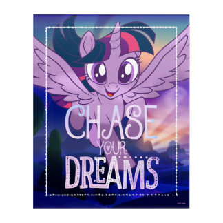 My Little Pony | Twilight - Chase Your Dreams Acrylic Wall Art