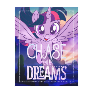 My Little Pony | Twilight - Chase Your Dreams Canvas Print