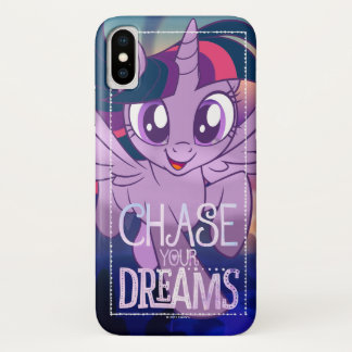 My Little Pony | Twilight - Chase Your Dreams iPhone X Case