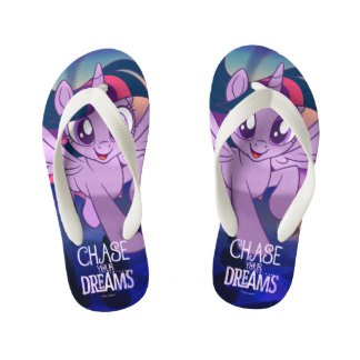 My Little Pony | Twilight - Chase Your Dreams Kid's Flip Flops