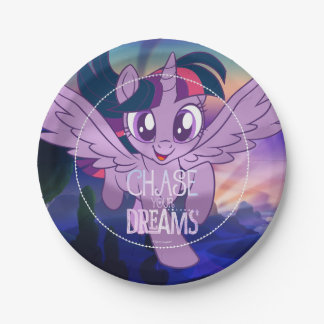 My Little Pony | Twilight - Chase Your Dreams Paper Plate