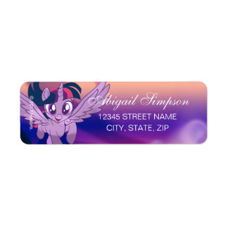 My Little Pony | Twilight - Chase Your Dreams Return Address Label