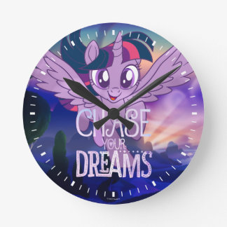 My Little Pony | Twilight - Chase Your Dreams Round Clock