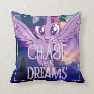 My Little Pony | Twilight - Chase Your Dreams Throw Pillow