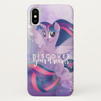 My Little Pony | Twilight - Discover Your Dreams iPhone X Case
