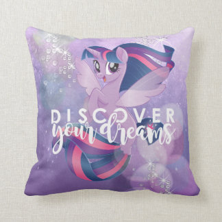 My Little Pony | Twilight - Discover Your Dreams Throw Pillow