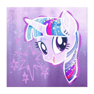My Little Pony | Twilight Sparkle Watercolor Canvas Print